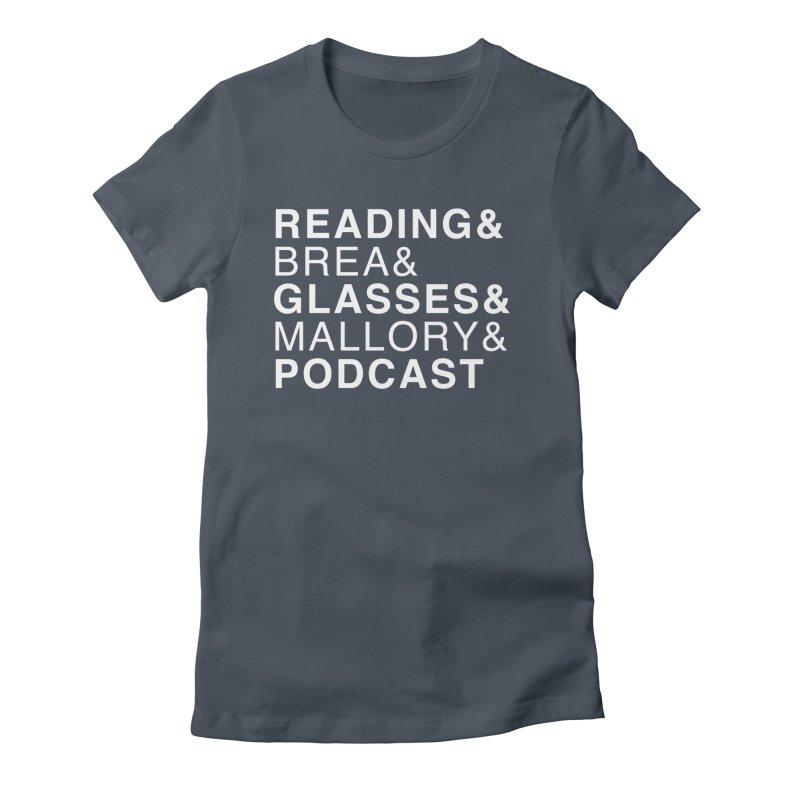 READING&GLASSES&PODCAST (Reading Glasses Podcast x Voidmerch) Femme T-Shirt by VOID MERCH