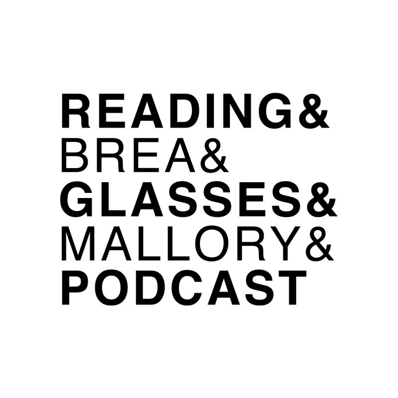 READING&GLASSES&PODCAST, blk (Reading Glasses Podcast x Voidmerch) Home Stretched Canvas by VOID MERCH