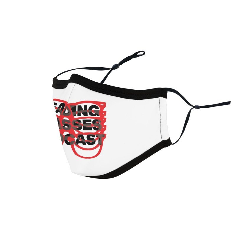 READING GLASSES PODCAST logo shirt 2 Accessories Face Mask by VOID MERCH