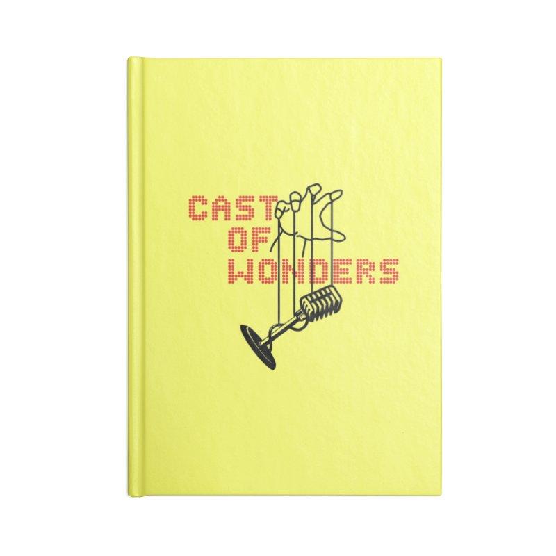 CAST OF WONDERS (EA x Voidmerch) Accessories Notebook by VOID MERCH