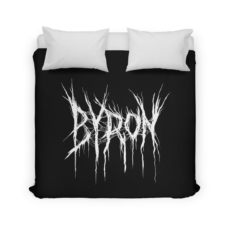 Lord Byron (Writer Are Metal AF) Home Duvet by VOID MERCH