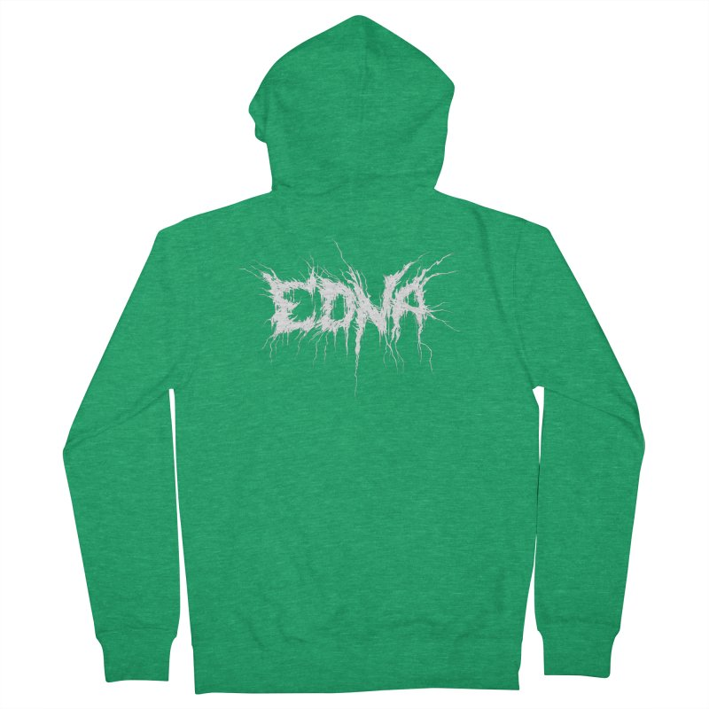 Edna White (Writers Are Metal AF Femme Zip-Up Hoody by VOID MERCH