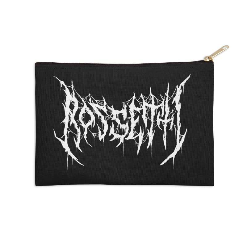 Rossetti (Writers Are Metal AF) Accessories Zip Pouch by VOID MERCH