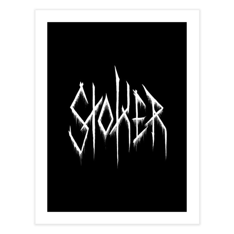 Bram Stoker (Writers Are Metal AF) Home Fine Art Print by VOID MERCH