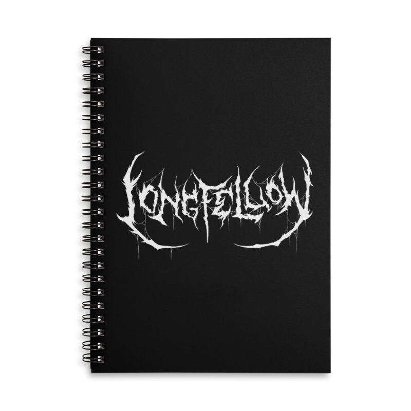 Henry Wadsworth Longfellow (Writer Are Metal AF) Accessories Notebook by VOID MERCH