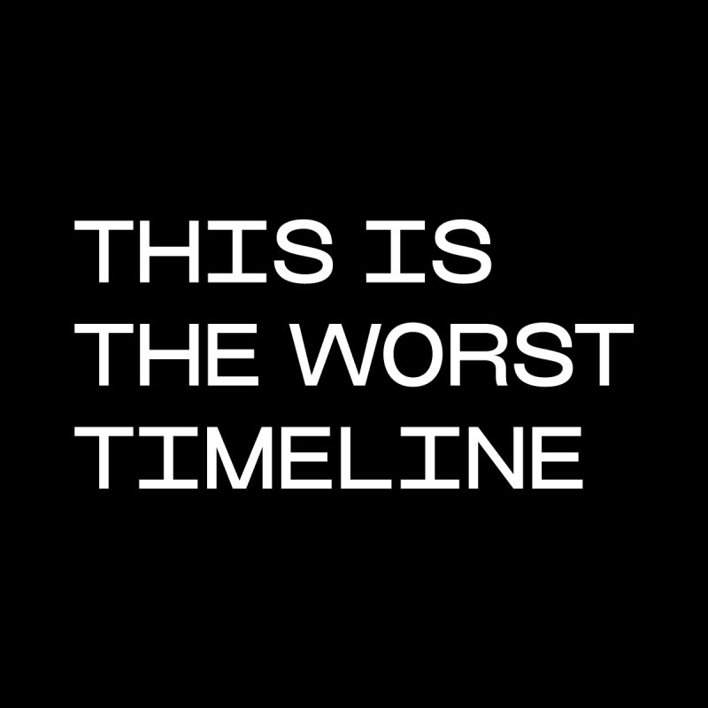 THE WORST TIMELINE by VOID MERCH
