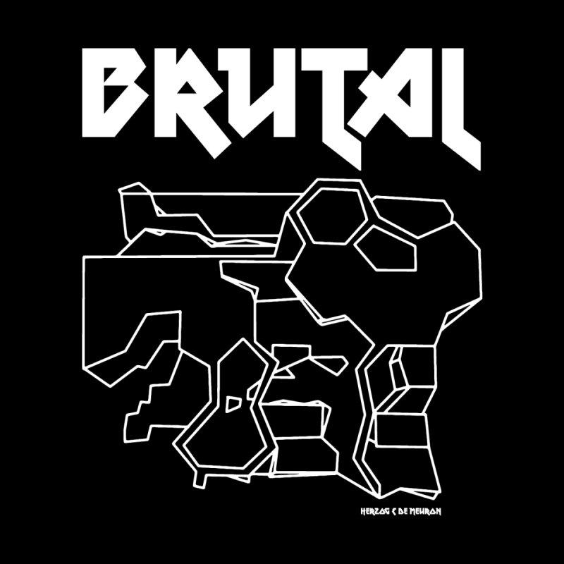 BRUTALIST LOVE No. 1 (METAL FONT) Men's T-Shirt by VOID MERCH
