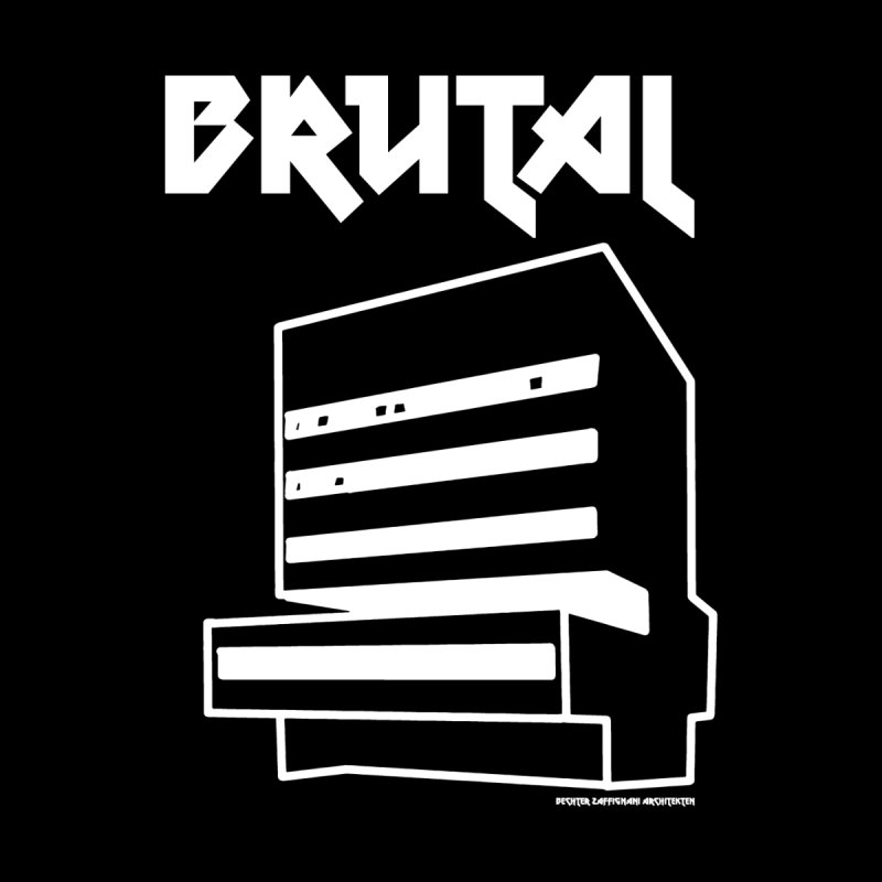 BRUTALIST LOVE No. 2 (METAL FONT) Men's T-Shirt by VOID MERCH