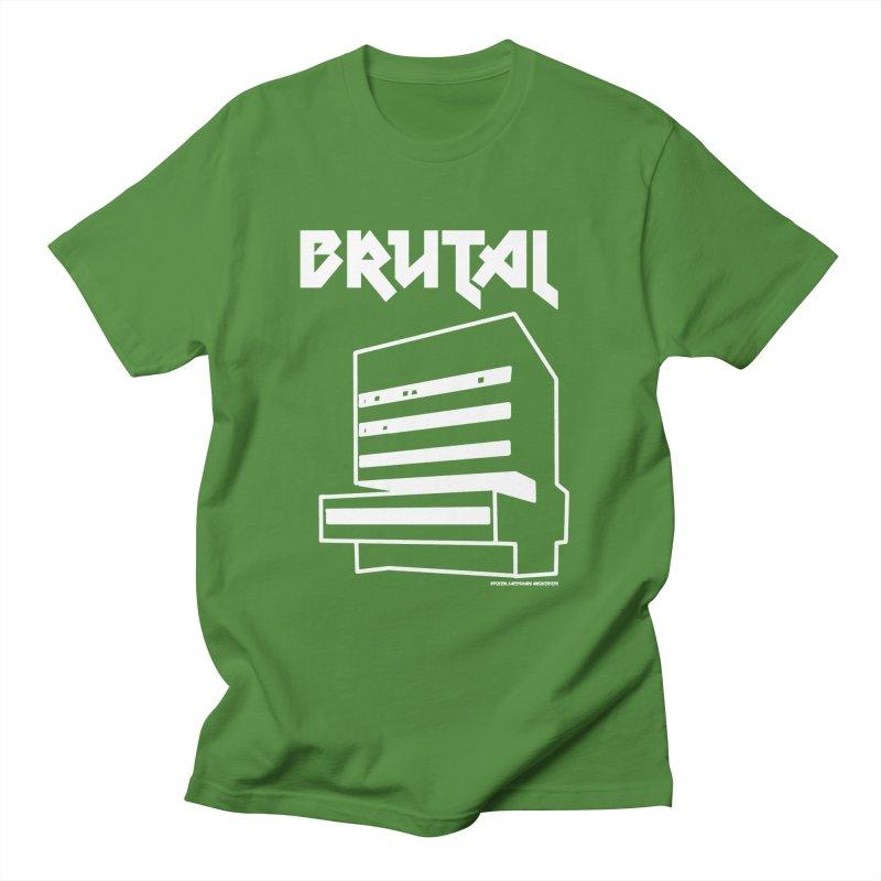 BRUTALIST LOVE No. 2 (METAL FONT) Masc T-Shirt by VOID MERCH