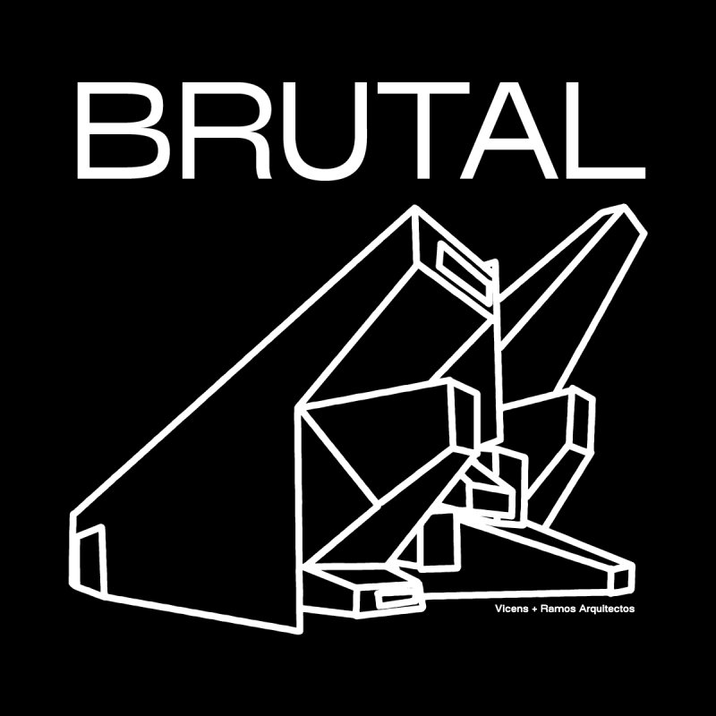 BRUTALIST LOVE No. 3 (SANS SERIF) Men's T-Shirt by VOID MERCH
