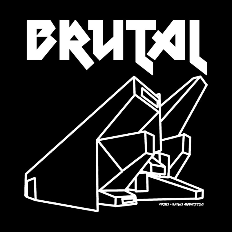 BRUTALIST LOVE No. 3 (METAL FONT) Men's T-Shirt by VOID MERCH