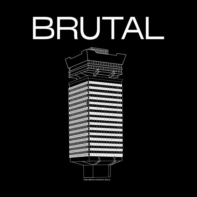 BRUTALIST LOVE No. 4 (SANS SERIF) Men's T-Shirt by VOID MERCH
