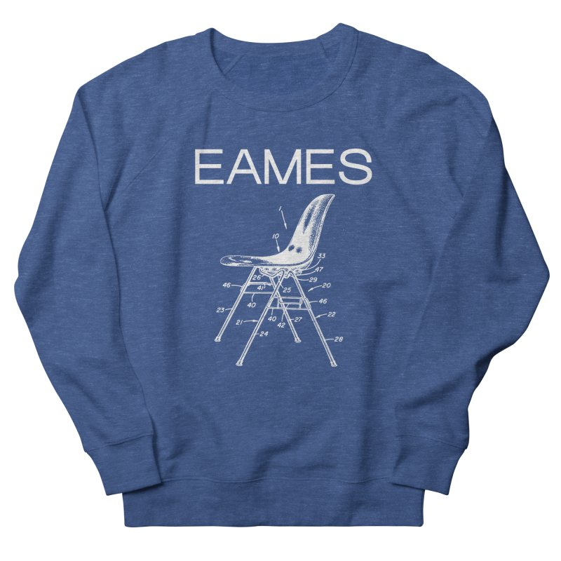EAMES NESTING CHAIR in Men's French Terry Sweatshirt Heather Royal by VOID MERCH