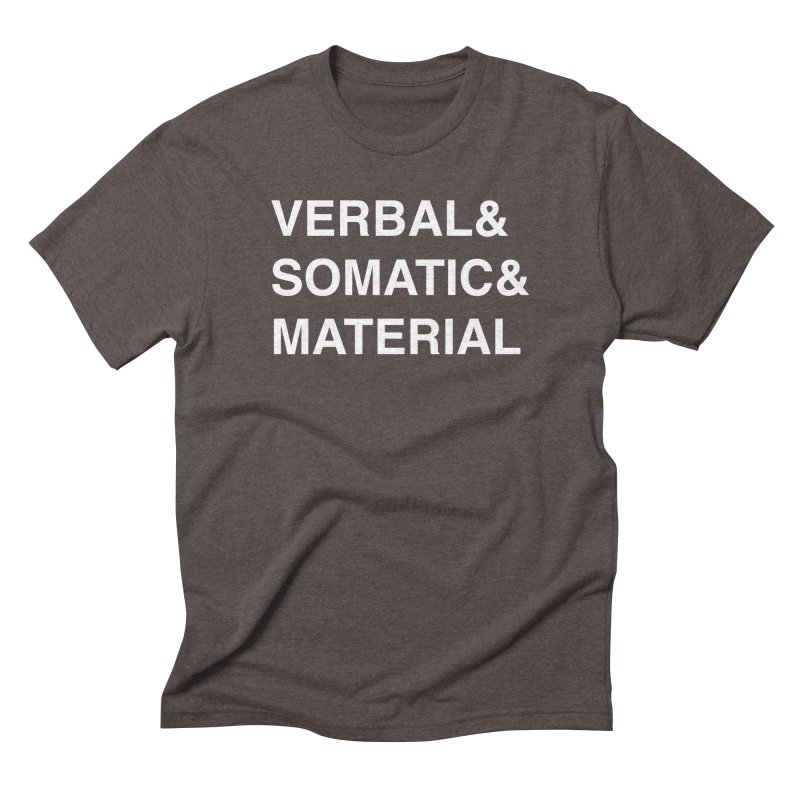 SPELL COMPONENTS in Men's Triblend T-Shirt Tri-Coffee by VOID MERCH