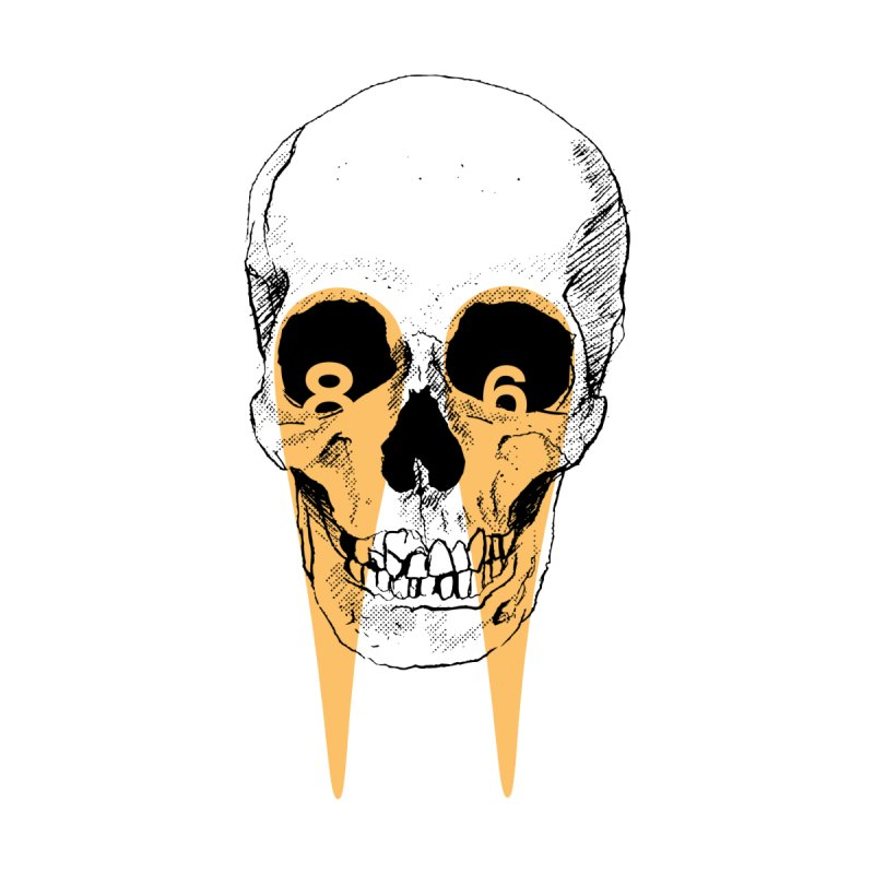I'm not crying . . . 86 CLUB SKULL (1 Colour) by VOID MERCH