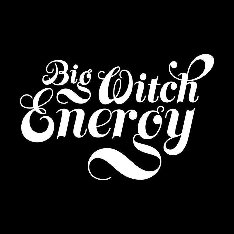 BIG WITCH ENERGY (FANCY) Men's T-Shirt by VOID MERCH