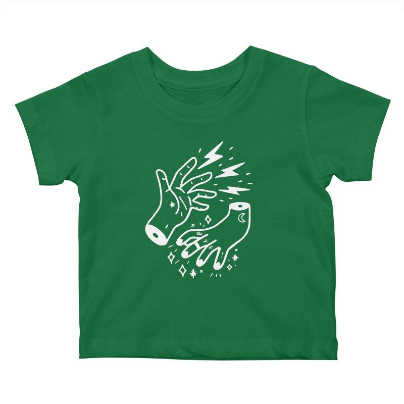 Cursed! (wht) Kids Baby T-Shirt by VOID MERCH