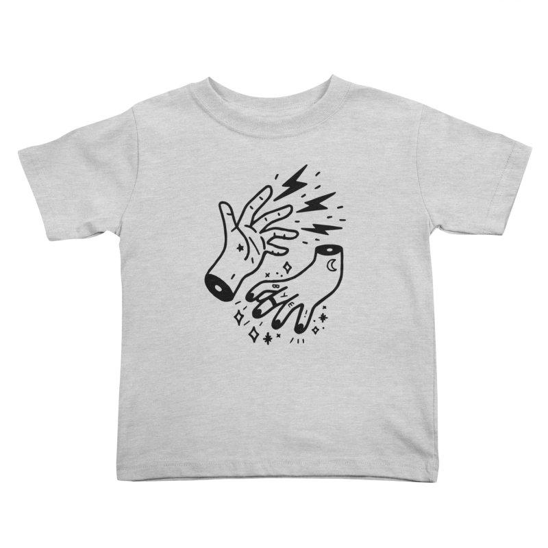 Cursed! (blk) Kids Toddler T-Shirt by VOID MERCH