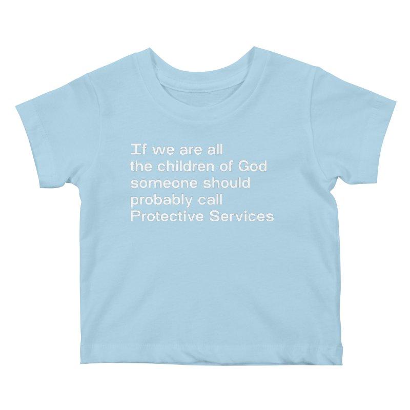 Negligent Deity Kids Baby T-Shirt by VOID MERCH