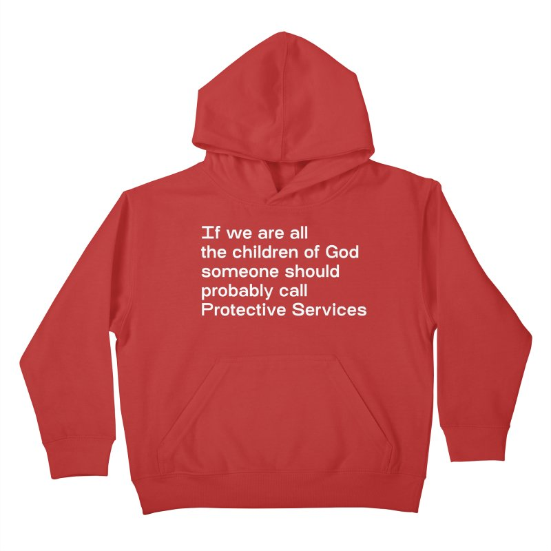 Negligent Deity Kids Pullover Hoody by VOID MERCH