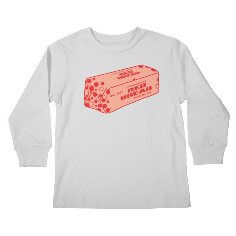 RED BREAD! FRESH COVEN BAKED! Kids Longsleeve T-Shirt by VOID MERCH