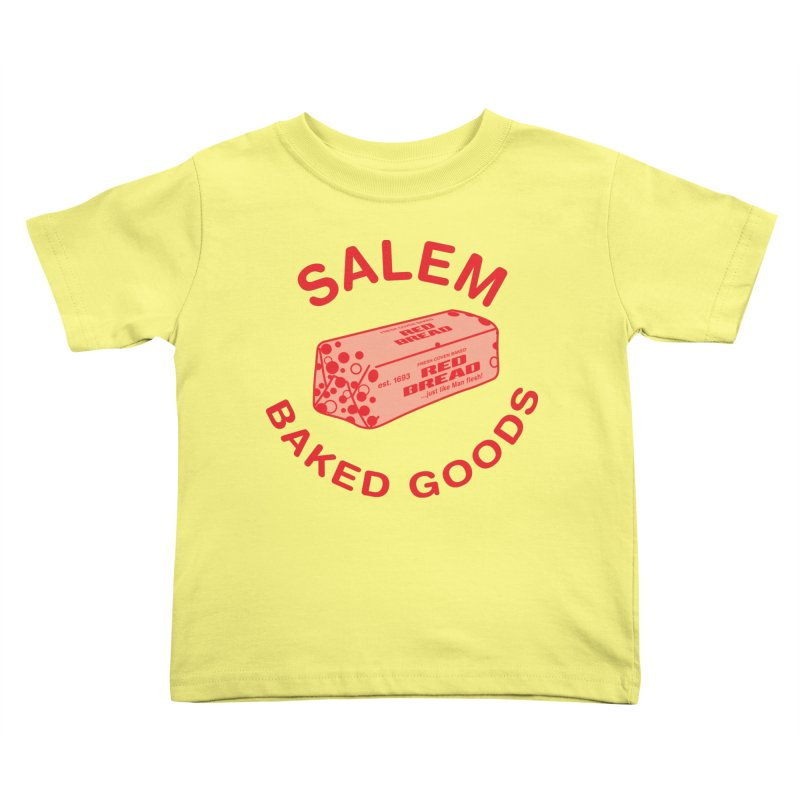 SALEM BAKED GOODS Kids Toddler T-Shirt by VOID MERCH