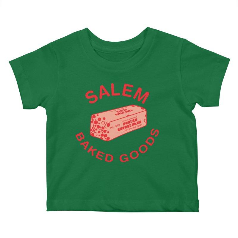 SALEM BAKED GOODS Kids Baby T-Shirt by VOID MERCH