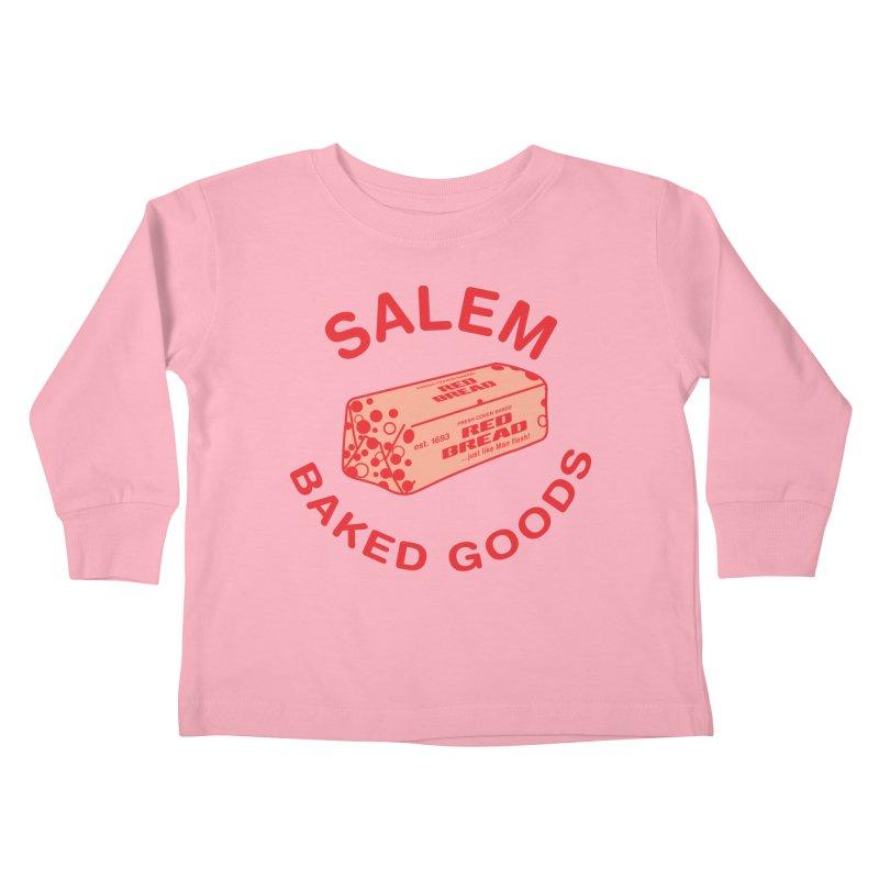 SALEM BAKED GOODS Kids Toddler Longsleeve T-Shirt by VOID MERCH