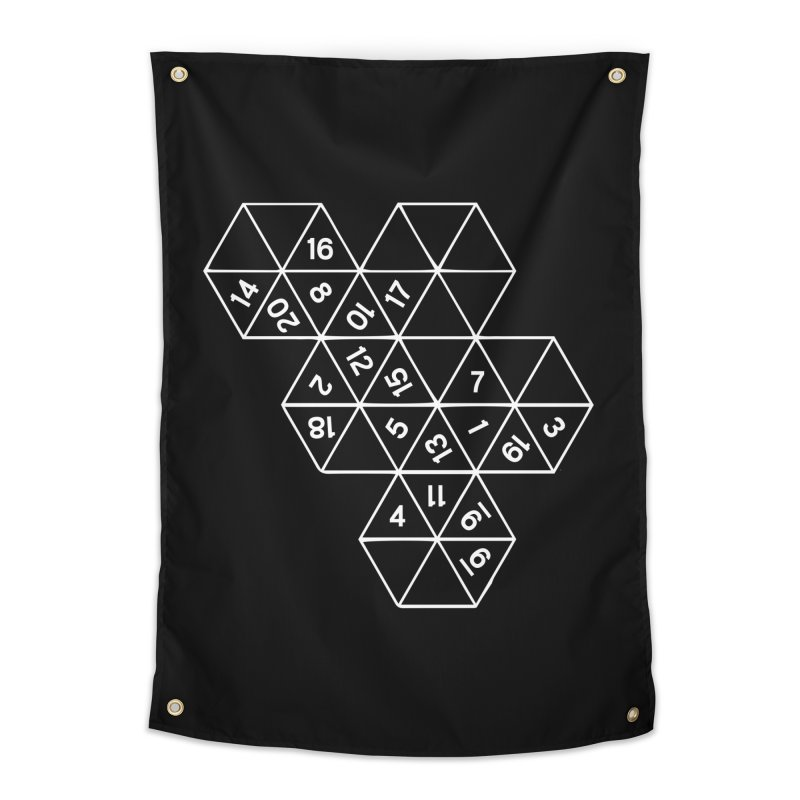 (D)econstructed 20 (wht) Home Tapestry by VOID MERCH