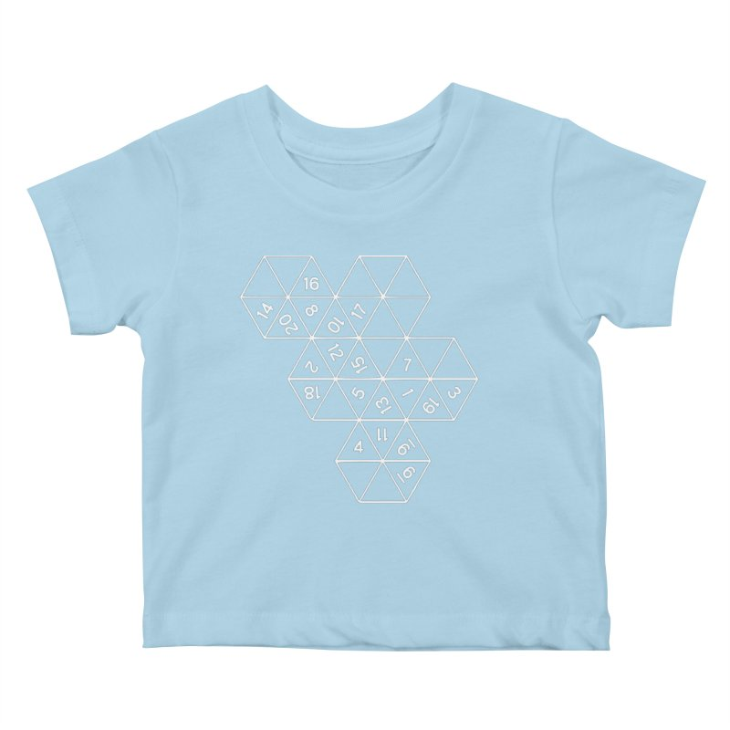 (D)econstructed 20 (wht) Kids Baby T-Shirt by VOID MERCH
