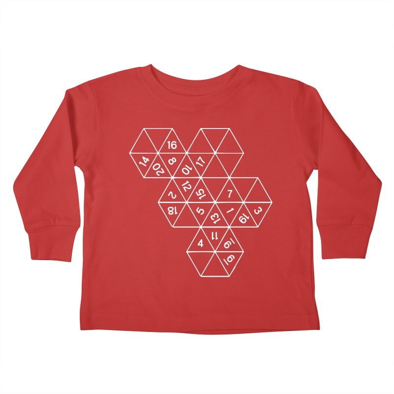 (D)econstructed 20 (wht) Kids Toddler Longsleeve T-Shirt by VOID MERCH