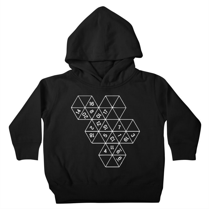 (D)econstructed 20 (wht) Kids Toddler Pullover Hoody by VOID MERCH