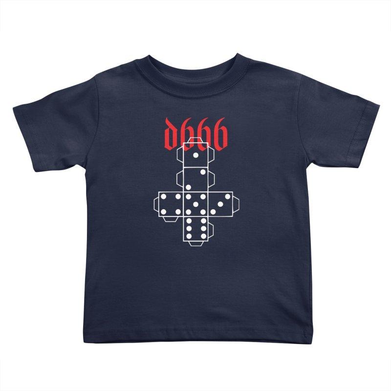 d666 (wht) Kids Toddler T-Shirt by VOID MERCH