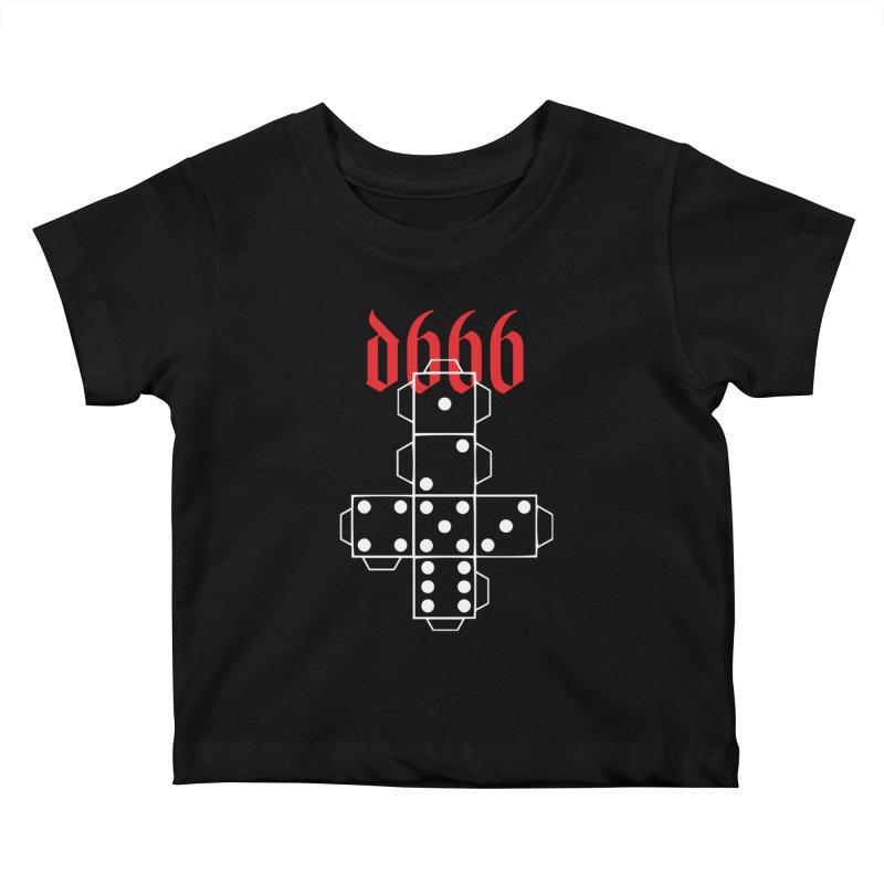 d666 (wht) Kids Baby T-Shirt by VOID MERCH
