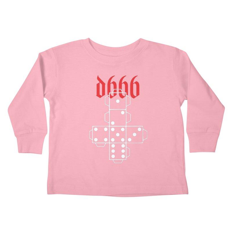 d666 (wht) Kids Toddler Longsleeve T-Shirt by VOID MERCH