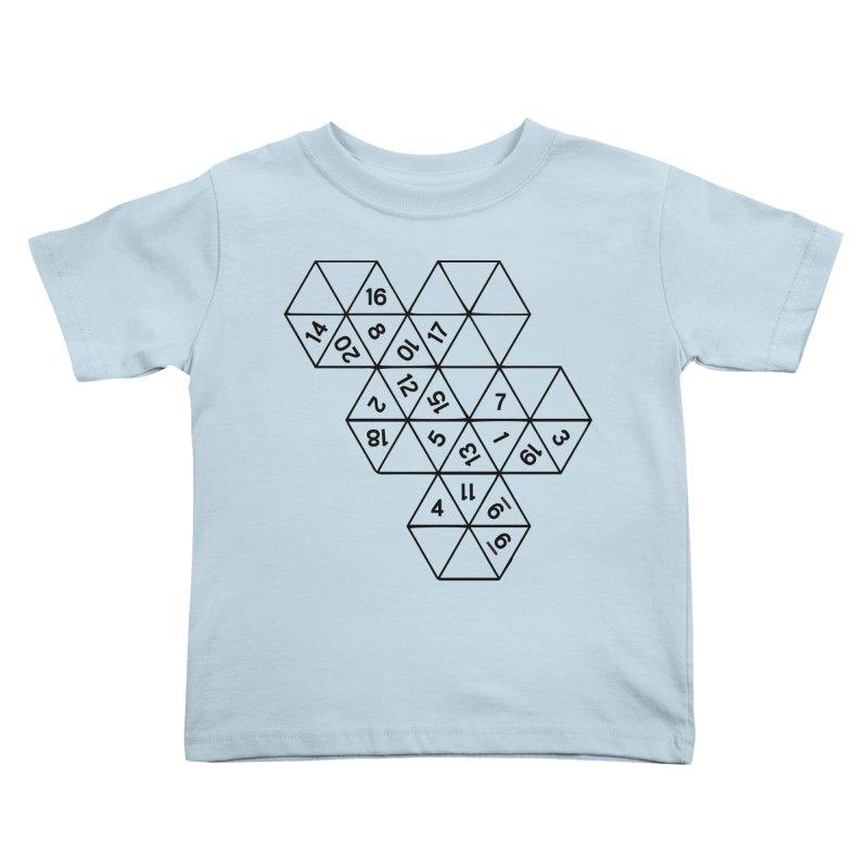 (D)econstructed 20 (blk) Kids Toddler T-Shirt by VOID MERCH
