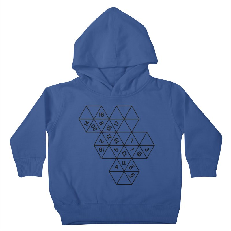 (D)econstructed 20 (blk) Kids Toddler Pullover Hoody by VOID MERCH