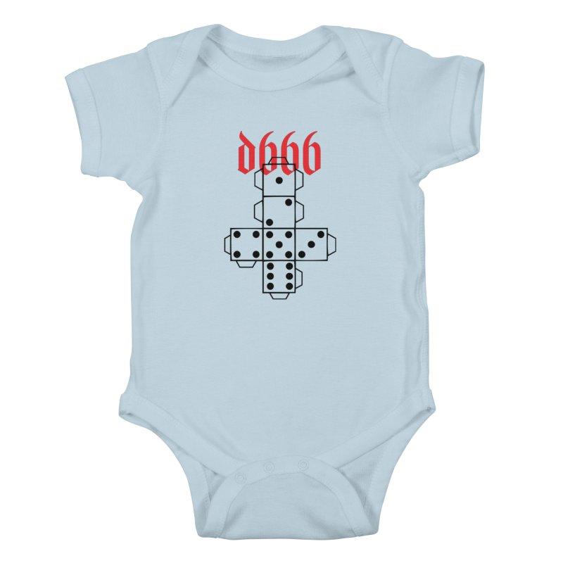 d666 (blk) Kids Baby Bodysuit by VOID MERCH