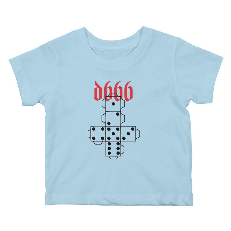 d666 (blk) Kids Baby T-Shirt by VOID MERCH