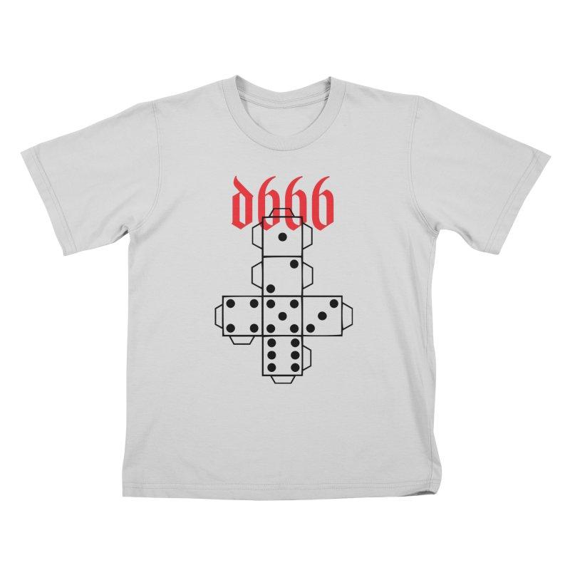 d666 (blk) Kids T-Shirt by VOID MERCH