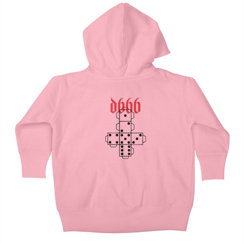 d666 (blk) Kids Baby Zip-Up Hoody by VOID MERCH