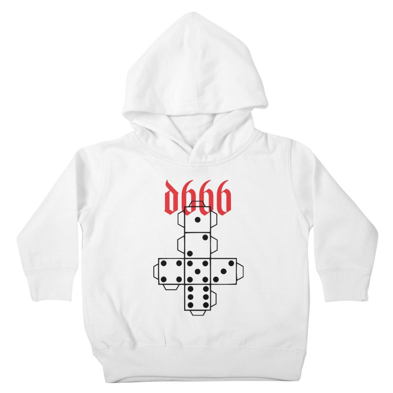 d666 (blk) Kids Toddler Pullover Hoody by VOID MERCH