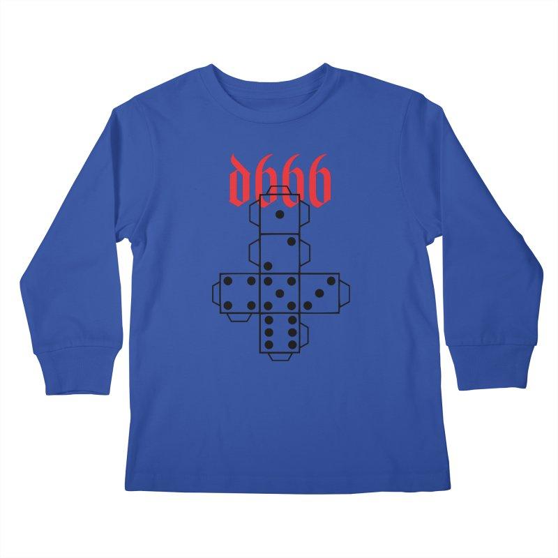 d666 (blk) Kids Longsleeve T-Shirt by VOID MERCH