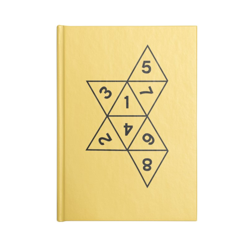 (D)econstructed 8 (blk) Accessories Notebook by VOID MERCH