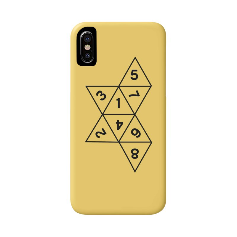 (D)econstructed 8 (blk) Accessories Phone Case by VOID MERCH