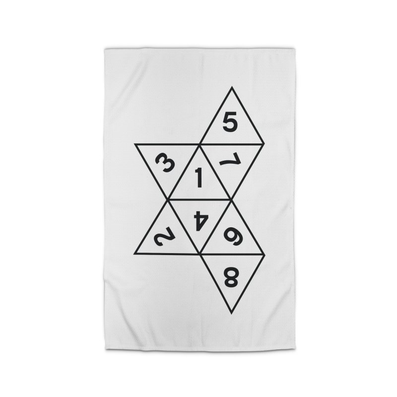 (D)econstructed 8 (blk) Home Rug by VOID MERCH