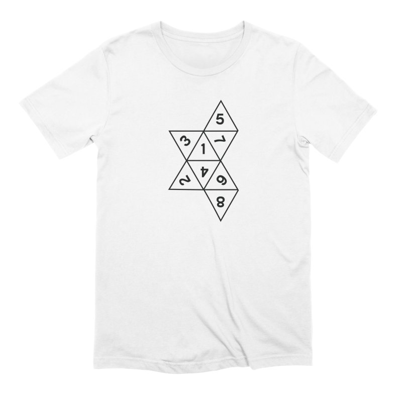 (D)econstructed 8 (blk) Men's Extra Soft T-Shirt by VOID MERCH