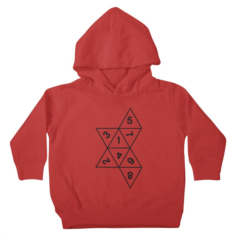 (D)econstructed 8 (blk) Kids Toddler Pullover Hoody by VOID MERCH