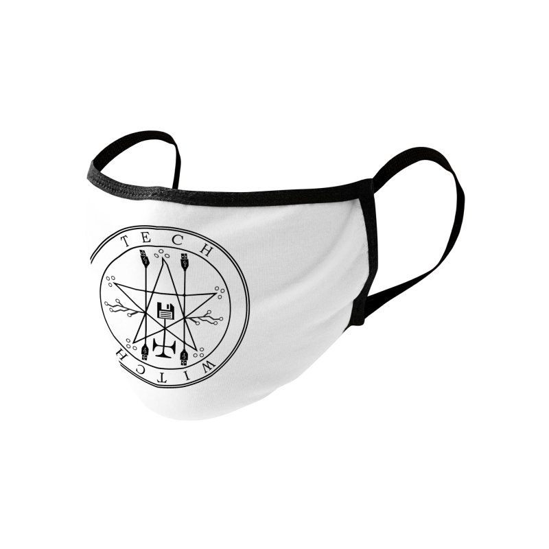 TECH WITCH (blk) Accessories Face Mask by VOID MERCH