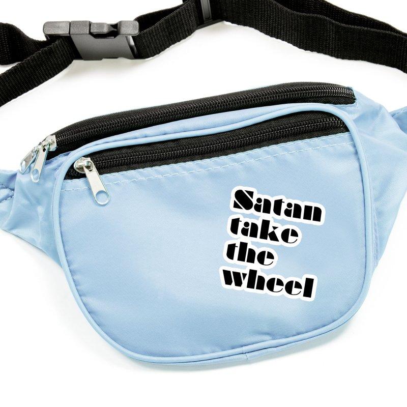 SATAN TAKE THE WHEEL (blk) Accessories Sticker by VOID MERCH
